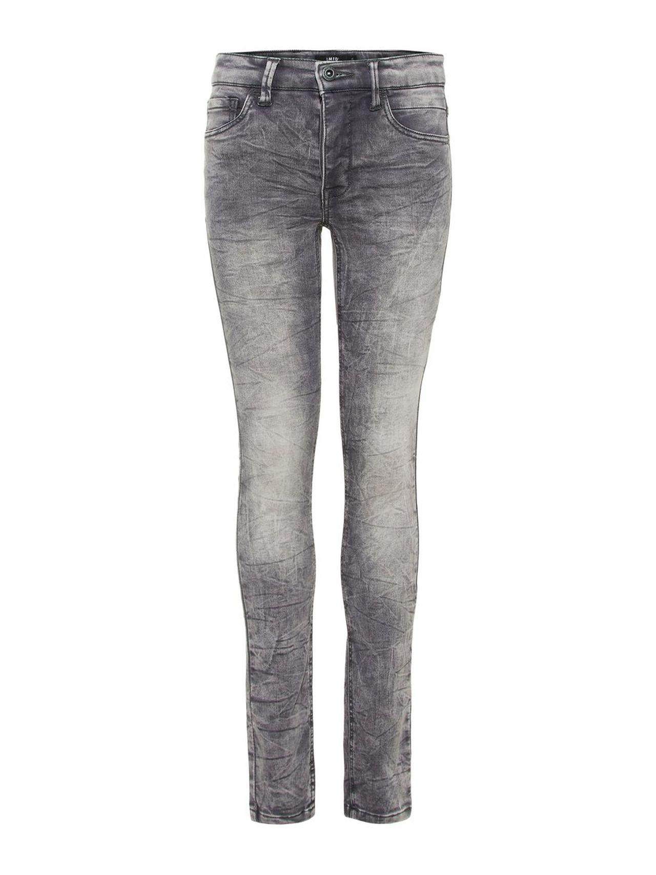 NAME IT Teen Skinny Fit Super Stretch Sweat Denim Jeans Man Blå