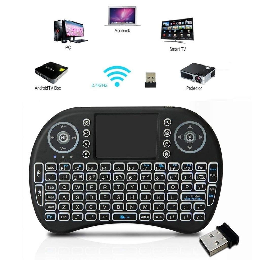 NULL IPTV Trådlöst tangentbord PC, Android för TV-box X96mini / Max
