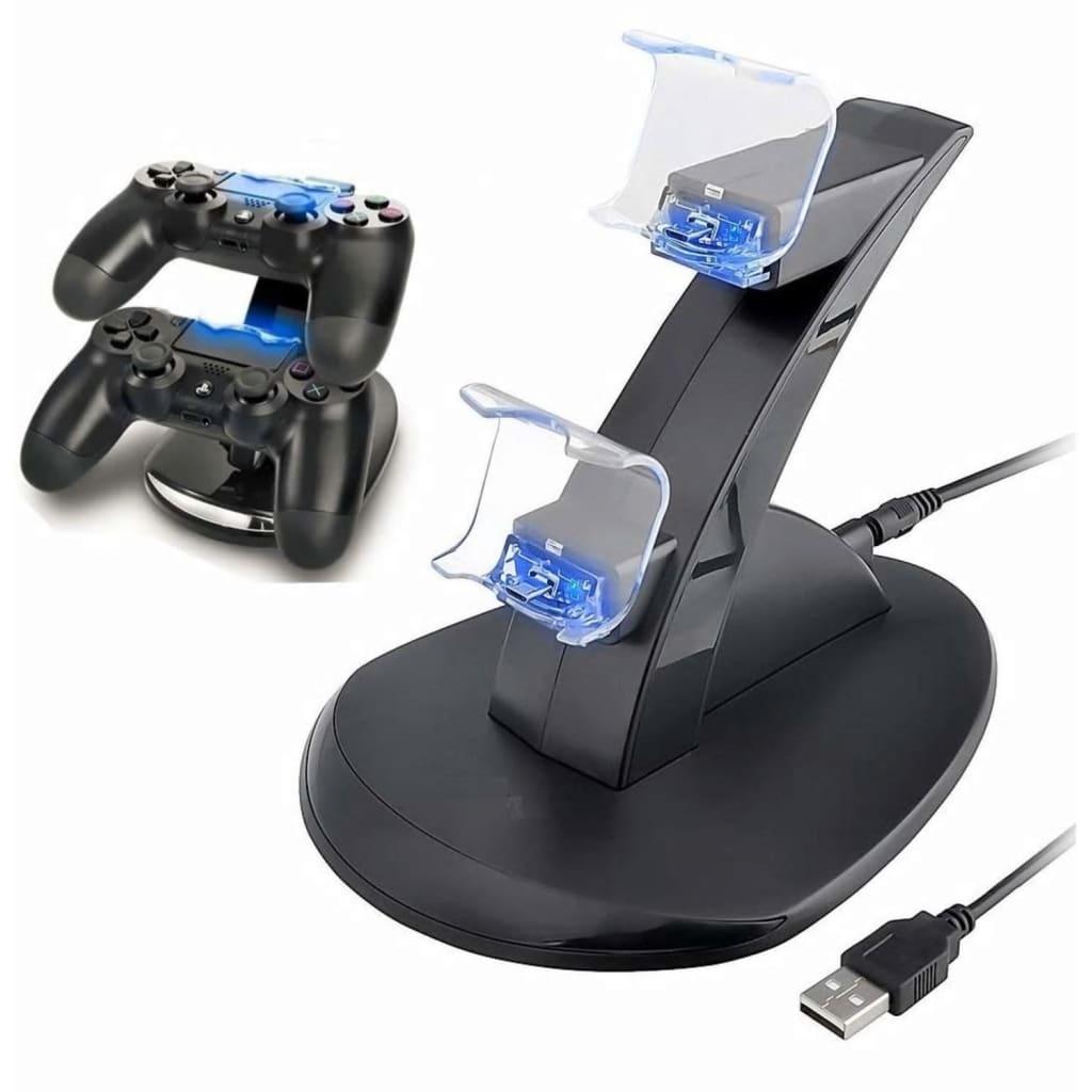 NULL Laddningsstation för två PS4 kontroller