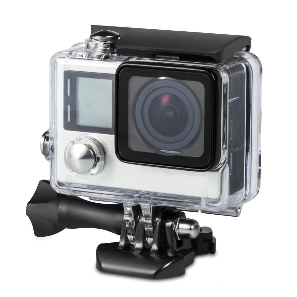 NULL Vattentätt skal – kamerahus till GoPro Hero4 / 3+ / 3 transparent