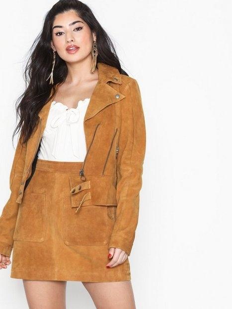 Noisy May Nmella L/S Leather Jacket 2P Övriga Jackor