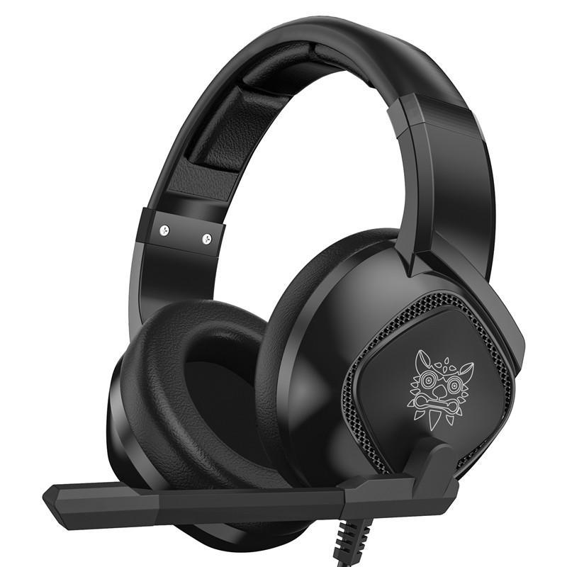 ONIKUMA K19 Gaming Hörlurar RGB Ljud Stereo Bass Wired Hörlurar Med Större Avbrott Mik