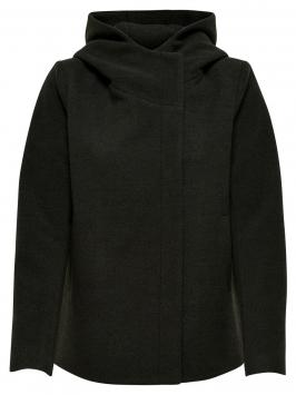 ONLY Short Wool Jacket Kvinna Grön