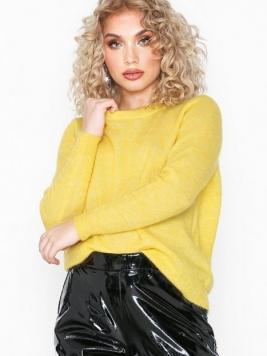Object Collectors Item Objnete L/S Knit O-Neck Pullover Se Stickade tröjor