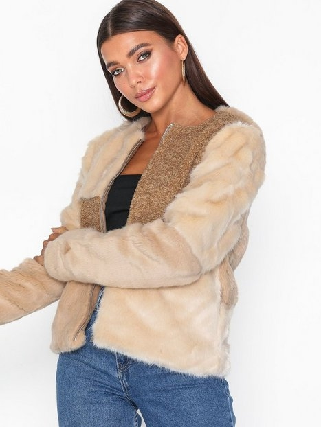 Only onlALEXIS Mix Faux Fur Jacket Otw Faux Fur