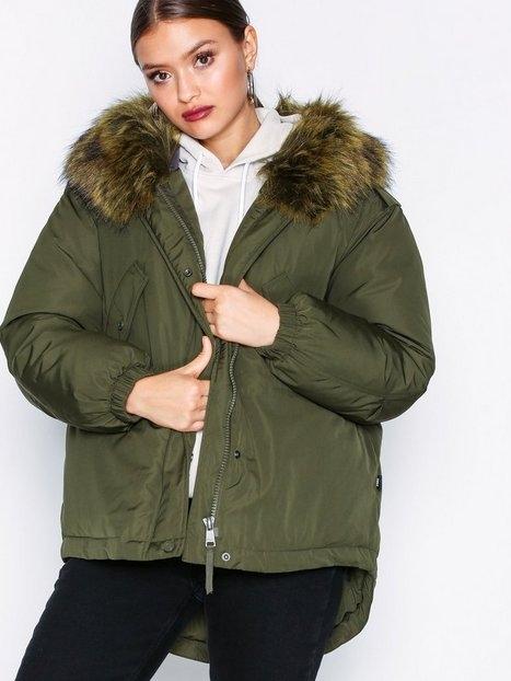Only onlRIKKE Oversized Nylon Jacket Otw Parkasjackor