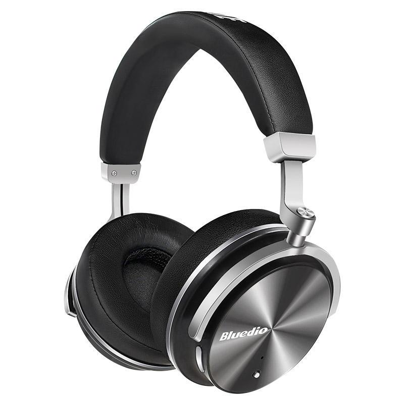 Original Bluedio T4 Active Noise Canceling ANC Trådlöst Bluetooth-hörlurs headset med mikrofon
