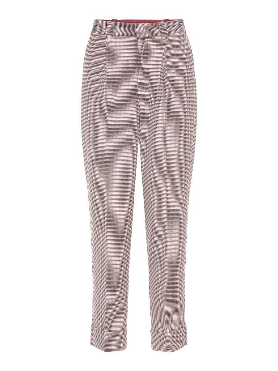 P O S T Y R High-waist Trousers Kvinna Pastel