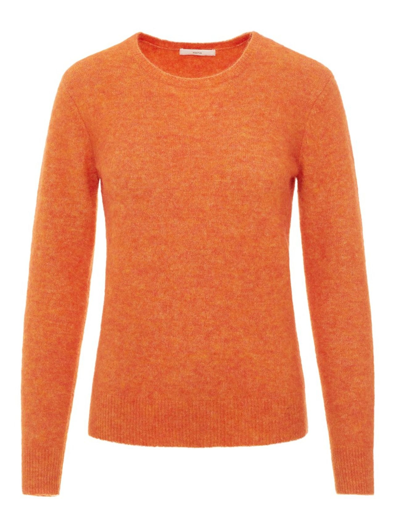 P O S T Y R Wool-blend Pullover Kvinna Orange