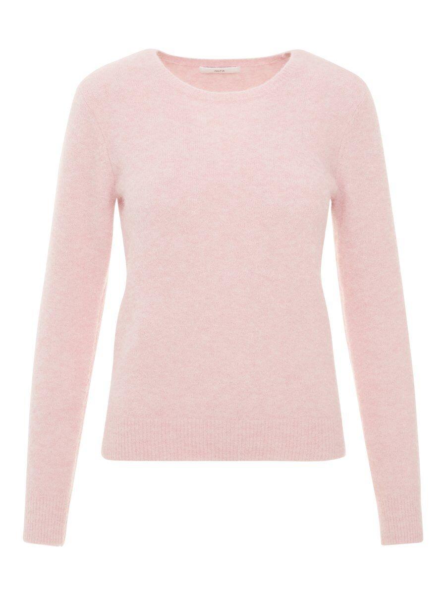 P O S T Y R Wool-blend Pullover Kvinna Rosa