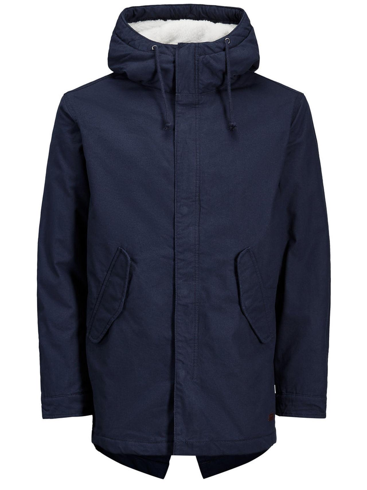 PRODUKT Parka Jacket Man Blå