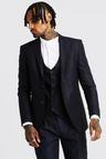 Plain Skinny Fit Suit Jacket
