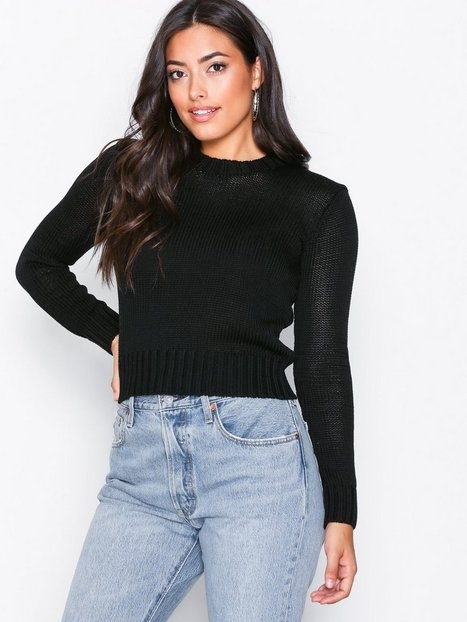 Polo Ralph Lauren Cropped Sweater Stickade tröjor