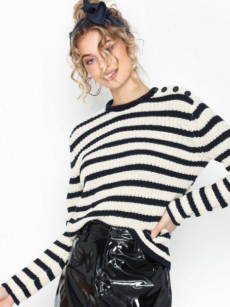 Polo Ralph Lauren Stripe Po-Long Sleeve-Sweater Stickade tröjor