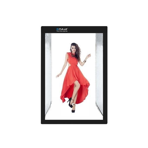 Portabelt Fotostudio Kit med belysning – 120x200cm