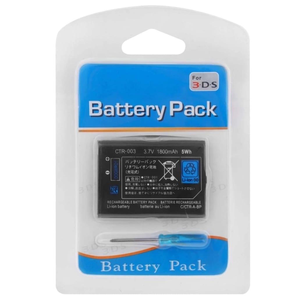 Prylxperten Batteri med skruvmejsel till Nintendo 3DS
