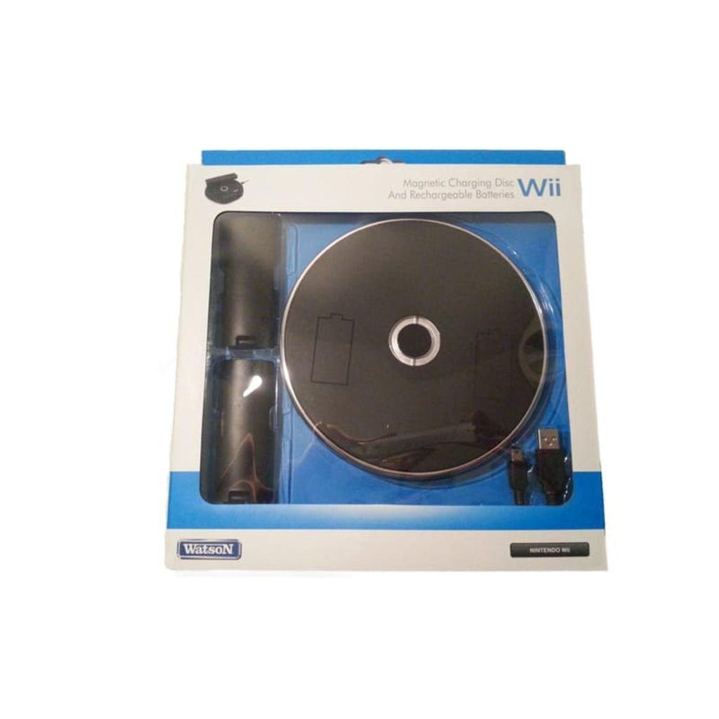 Prylxperten Trådlös Laddningsstation För Nintendo Wii Handkontroll Svart