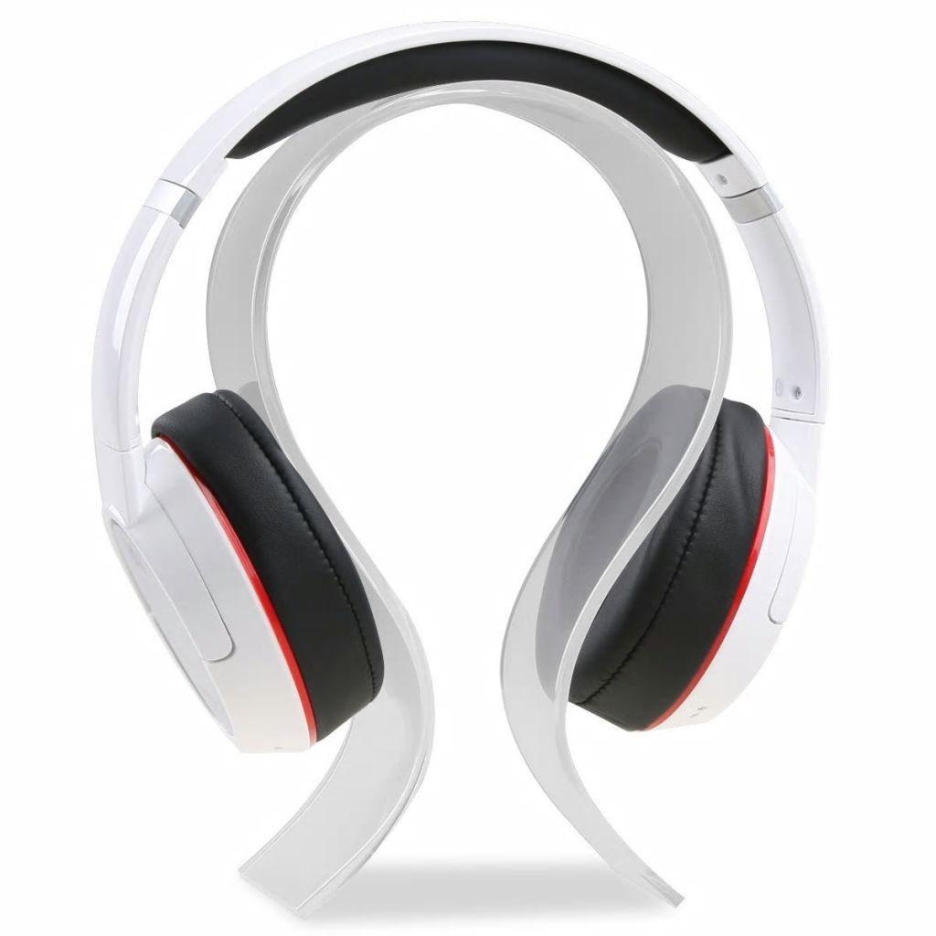 Prylxperten Universal hörlursställ transparent