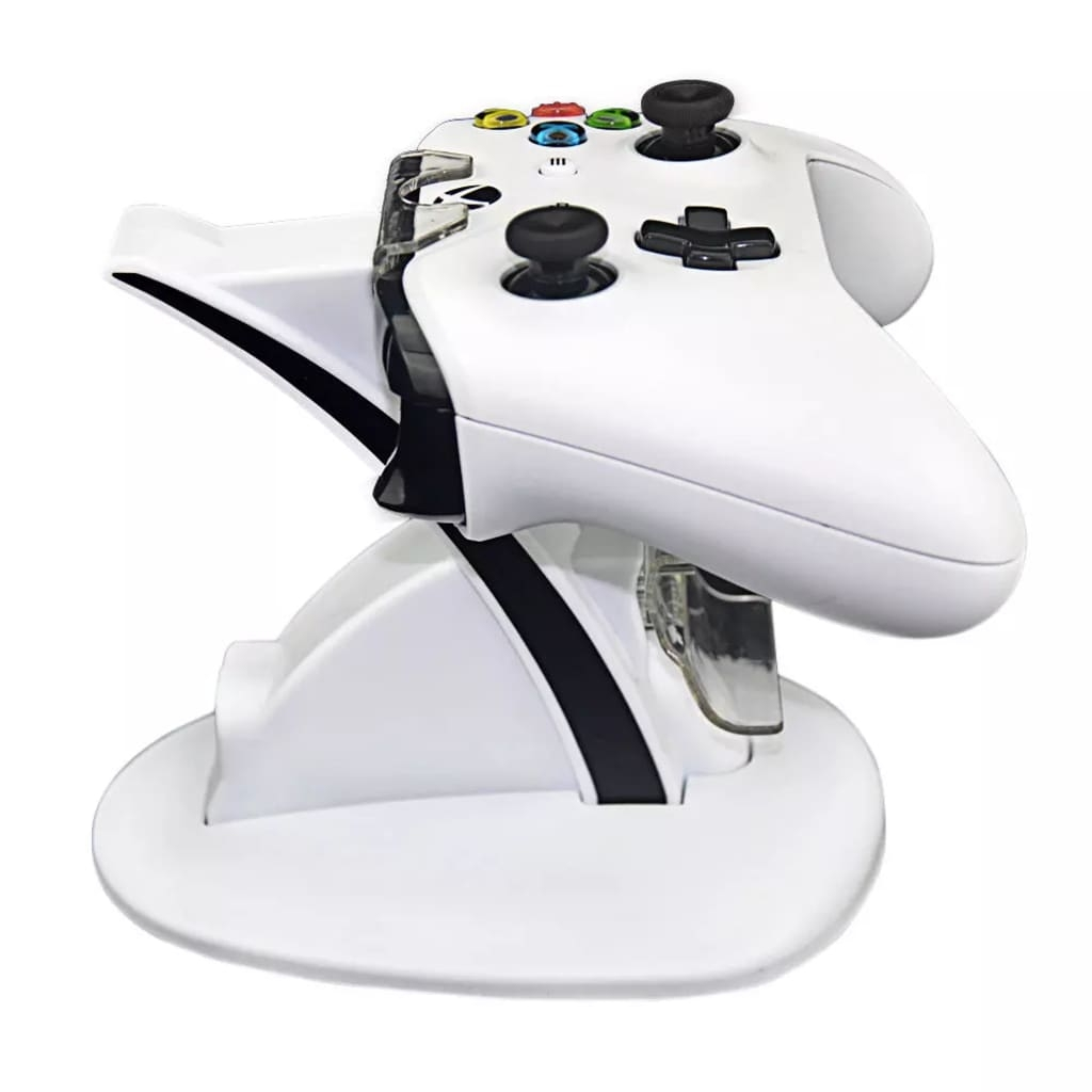 Prylxperten Vit Laddningsställ Dockningsstation för Xbox One kontroller