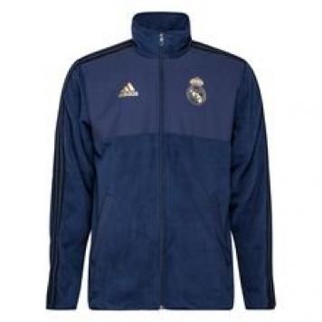 Real Madrid Fleece Jacka Seasonal Special - Navy/Svart
