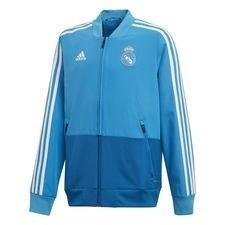 Real Madrid Jacka Presentation – Blå/Vit Barn