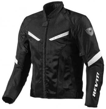 Revit GT-R Air Textil jacka Svart Vit 2XL
