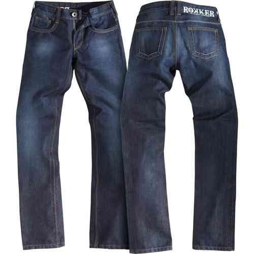Rokker Revolution Lady Jeans Blå 3XL