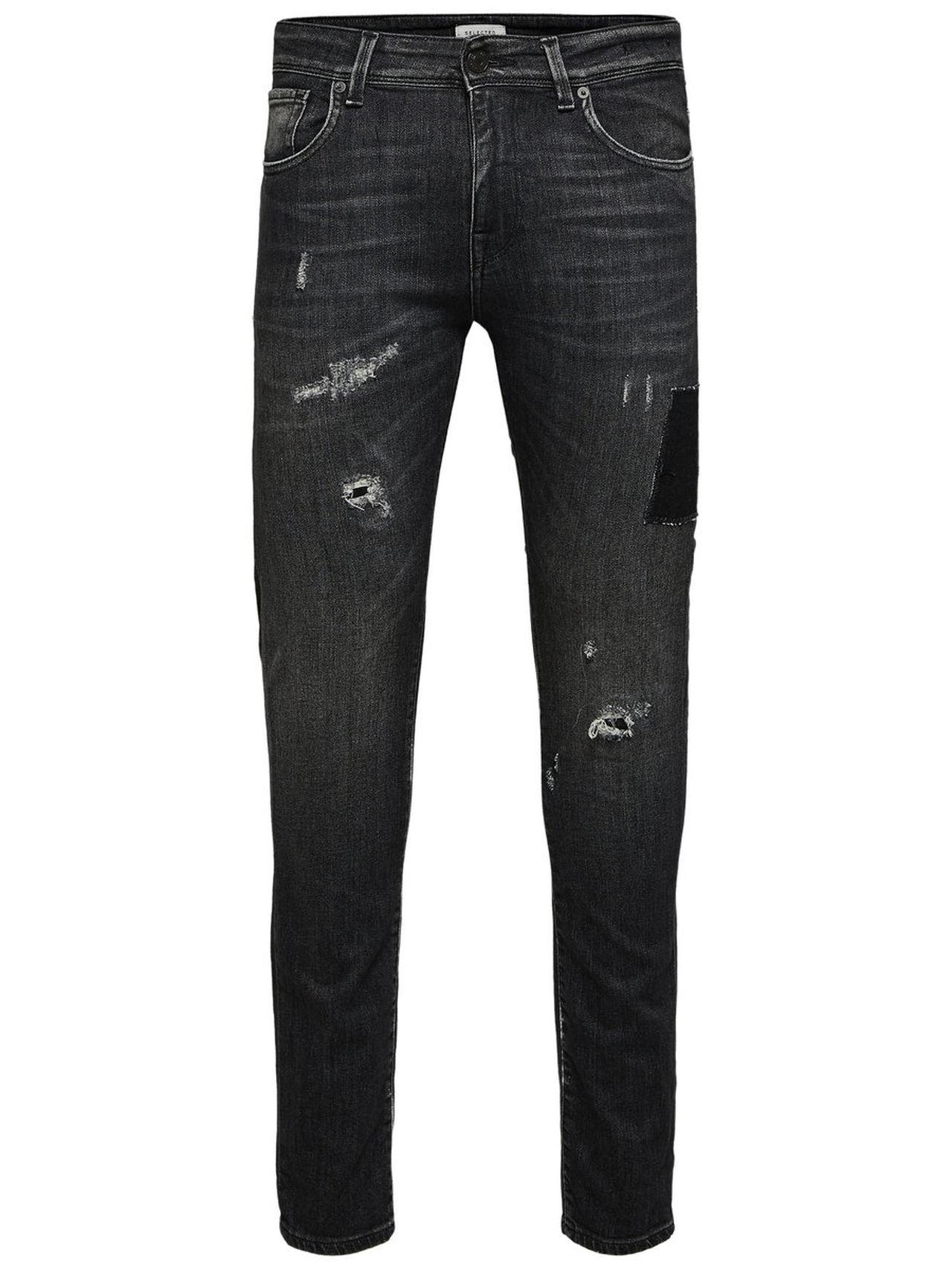 SELECTED 1450 – Slim Fit Jeans Man Grå