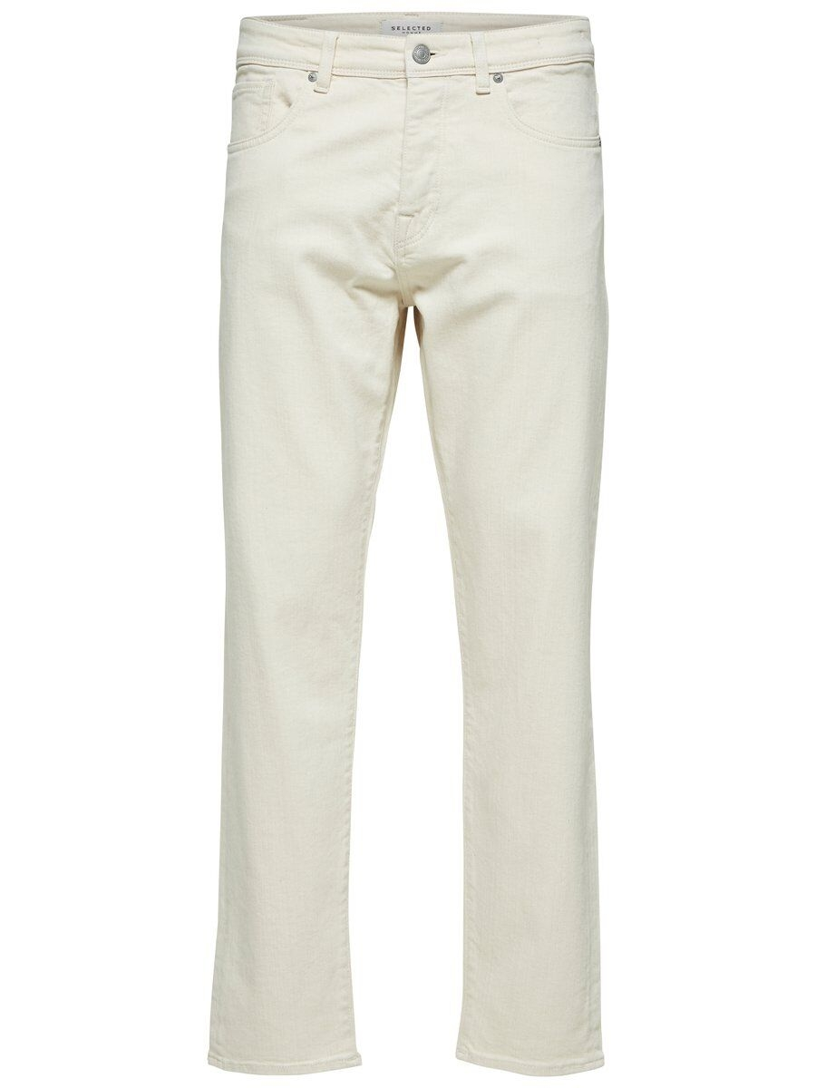 SELECTED 6117 – Avsmalnande Jeans Man White