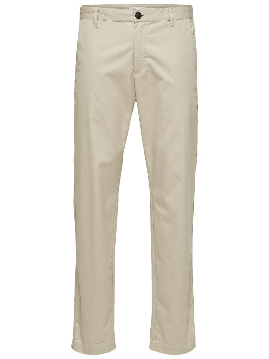 SELECTED Avsmalnande Byxor Man Beige