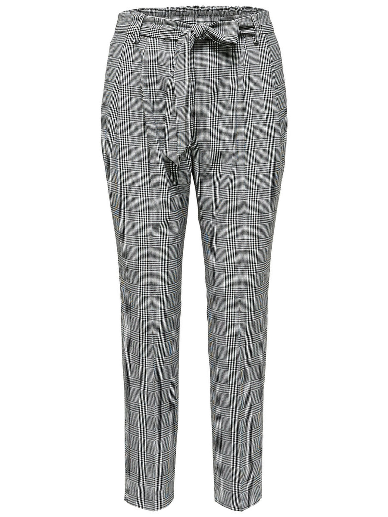 SELECTED Check – Trousers Kvinna Svart