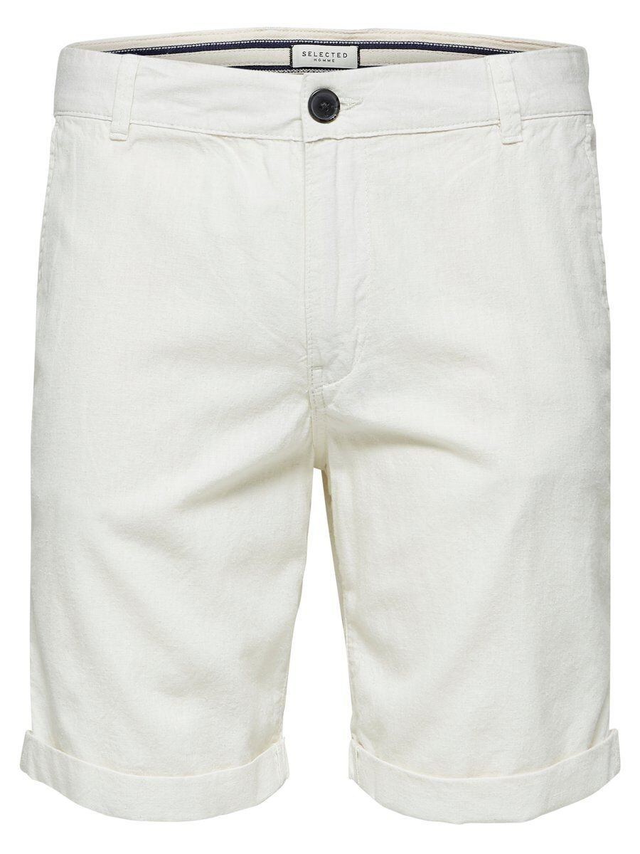 SELECTED Linneblandade – Shorts Man Beige