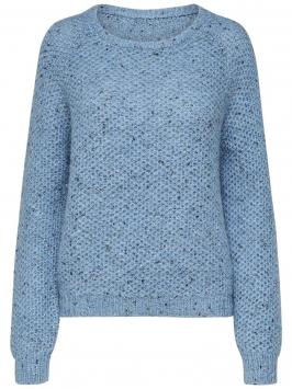 SELECTED Long - Knitted Pullover Kvinna Blå