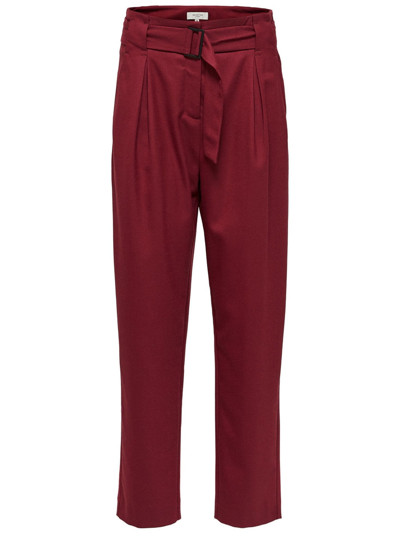 SELECTED Loose – Trousers Kvinna Röd