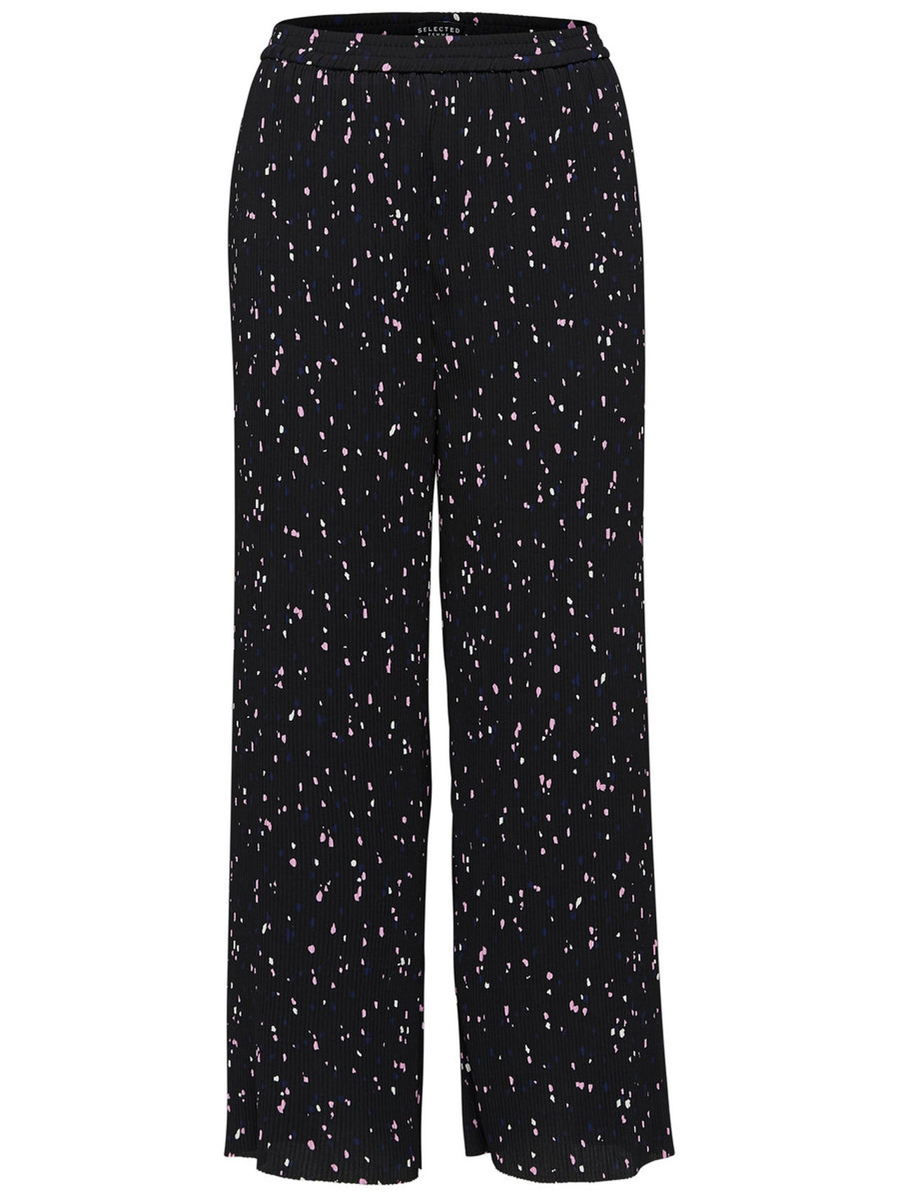 SELECTED Plisse – Trousers Kvinna Svart