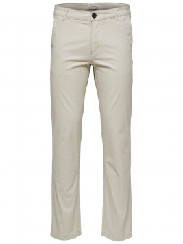 SELECTED Slhparis Regular Fit - Chinos Man Beige