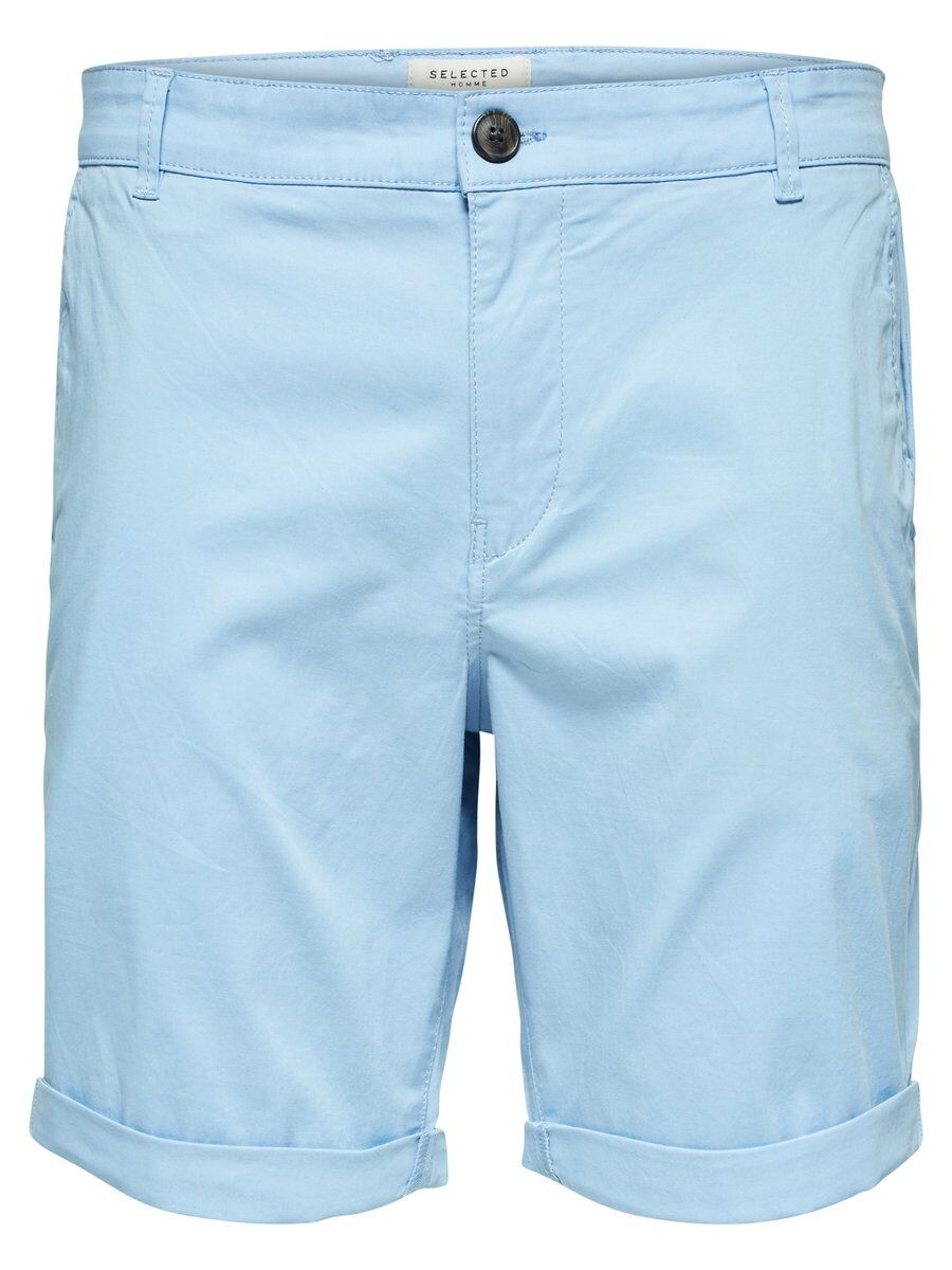 SELECTED Slhparis Regular Fit – Shorts Man Blå