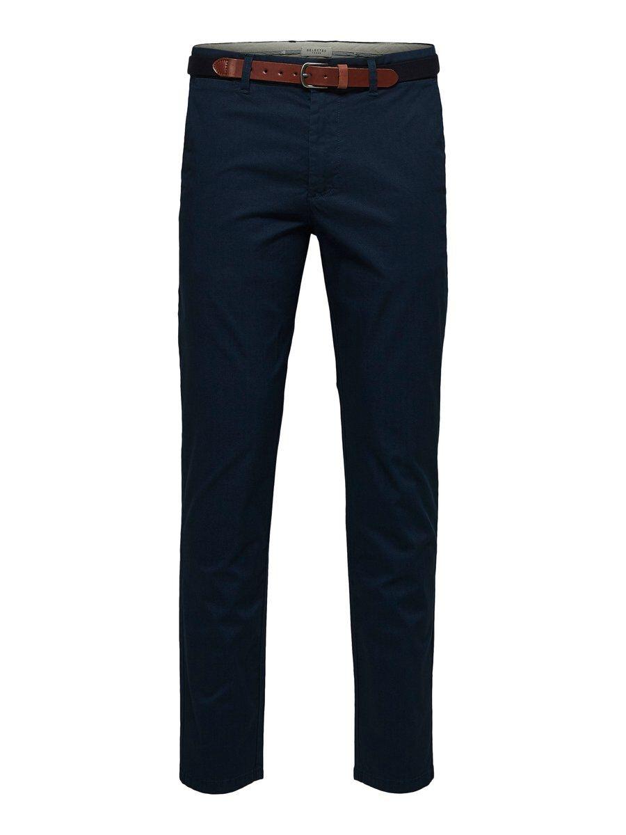 SELECTED Slhyard Slim Fit – Byxor Man Blå