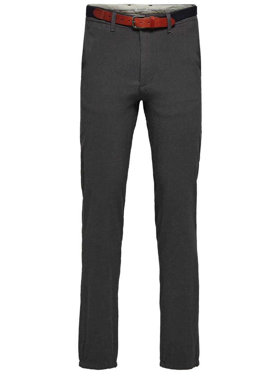 SELECTED Slhyard Slim Fit – Byxor Man Svart