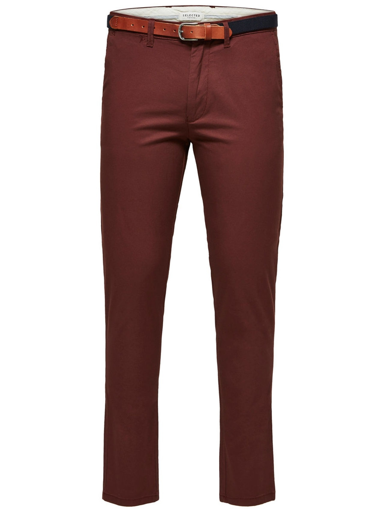 SELECTED Slhyard Slim Fit – Chinos Man Brun