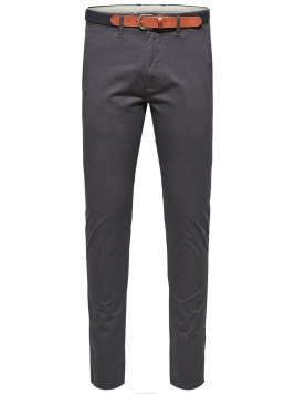 SELECTED Slhyard Slim Fit - Chinos Man Grå