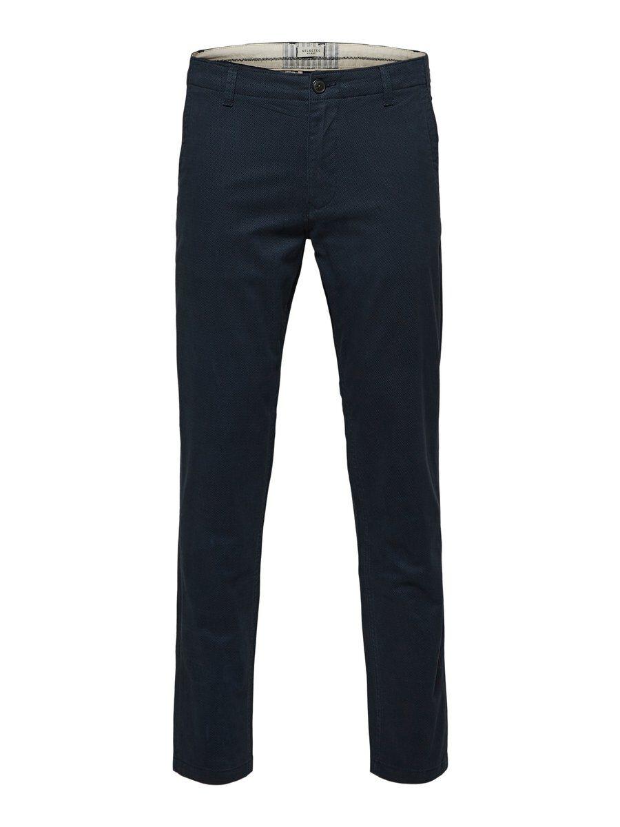 SELECTED Slim Fit – Byxor Man Blå
