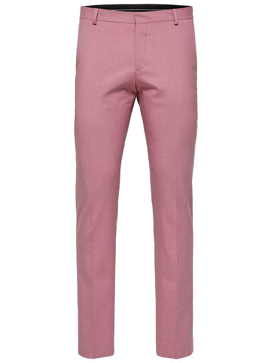 SELECTED Slim Fit – Kostymbyxor Man Rosa