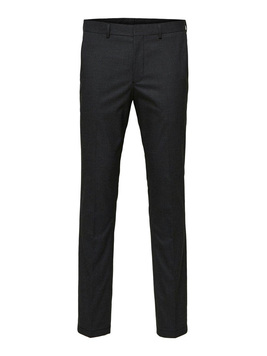 SELECTED Slim Fit – Kostymbyxor Man Svart