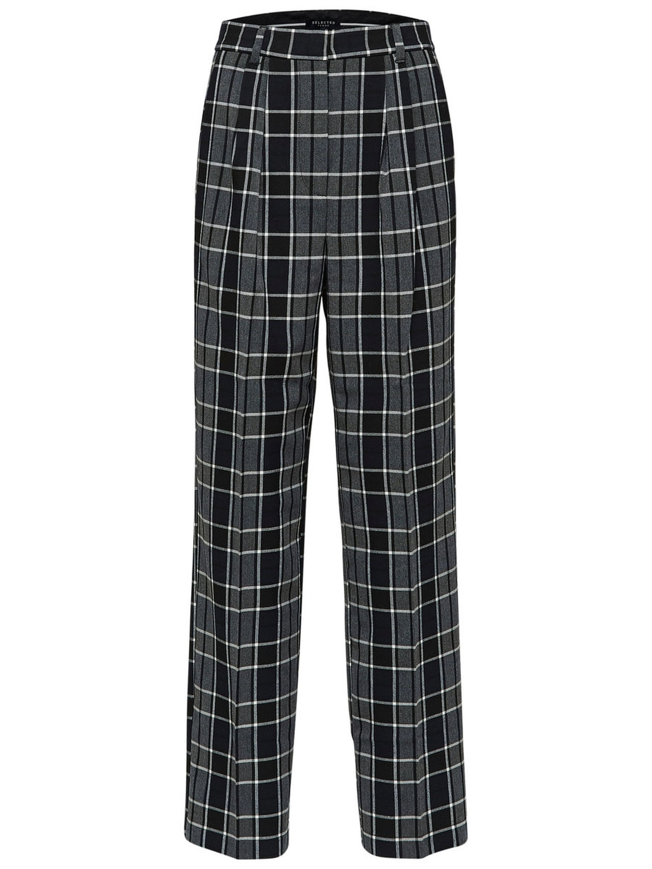 SELECTED Tailored Pair Trousers Kvinna Svart