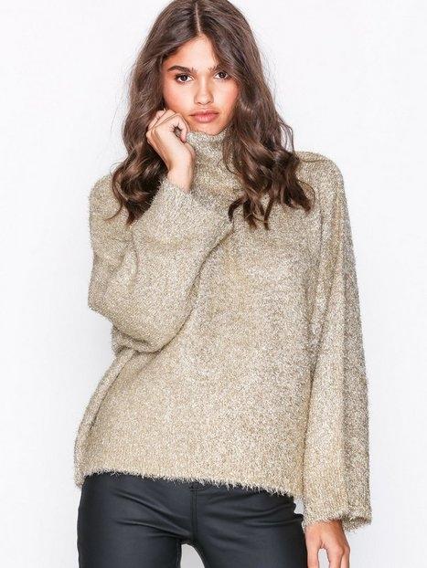 Selected Femme Slfcora Ls Knit Rollneck B Stickade tröjor
