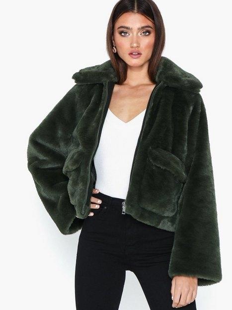 Selected Femme Slftrina Faux Fur Jacket Faux Fur