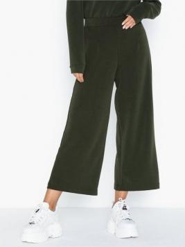 Selected Femme Slftuija Tea Mw Cropped Wide Pants Byxor