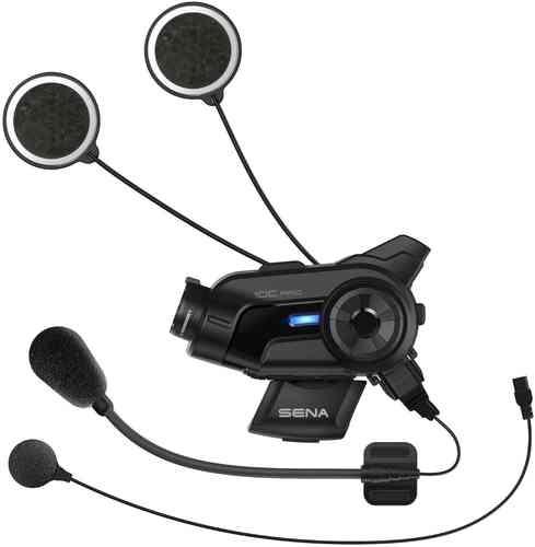 Sena 10C Pro Bluetooth kommunikationssystem och Actionkamera Svart en storlek