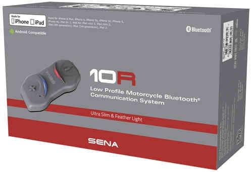 Sena 10R Bluetooth-kommunikation System Double Pack Svart en storlek